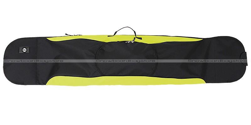PK Wave Black Green 175cm snowboardbag